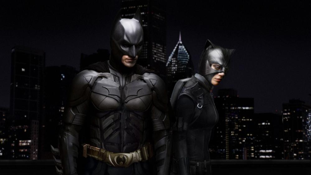 Batman con Catwoman