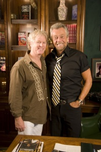William Katt y Stephen J. Cannell