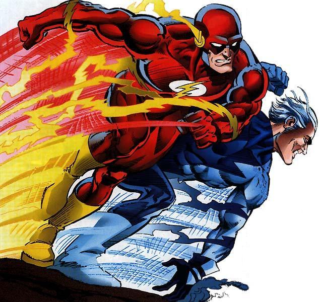 Marvel against dc flash vs mercurio marvel dc race