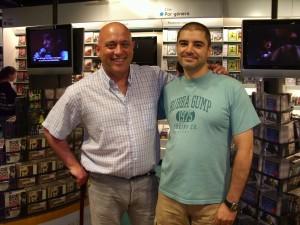 M.A. Valderas con J.M. Carrasco