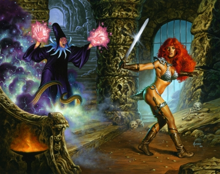 red-sonja-zone-of-art-joe-jusko-double-cover