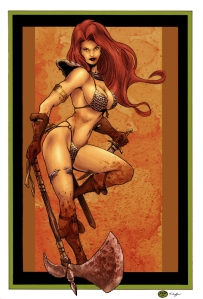 red-sonja-zone-of-art-michael-bair