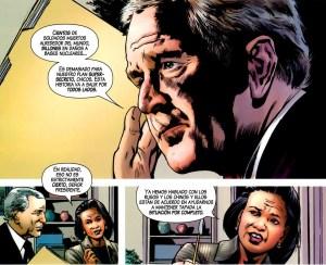 George W. Bush y Condoleezza Rice por Hitch