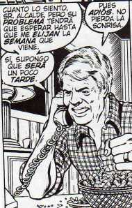 Jimmy Carter por George Perez