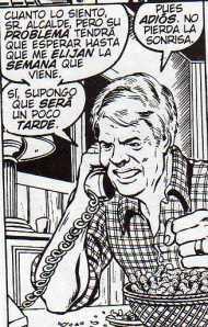 Jimmy Carter por George Perez