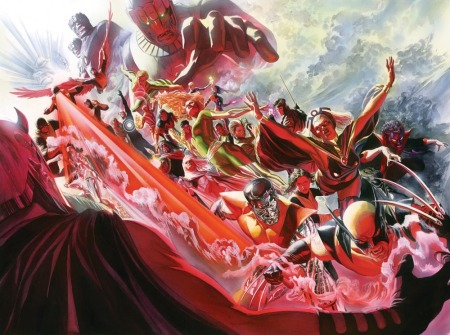x-men500painting-alex-ross