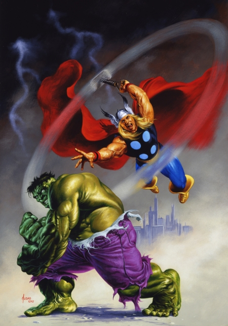 hulk_and_thor_by_joejusko