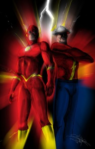 flash-silver_and_golden_age_flash_by_psdguy