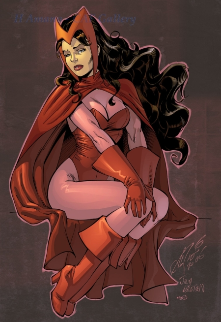 Al Rio Marvel Leisten Downer Scarlet Witch