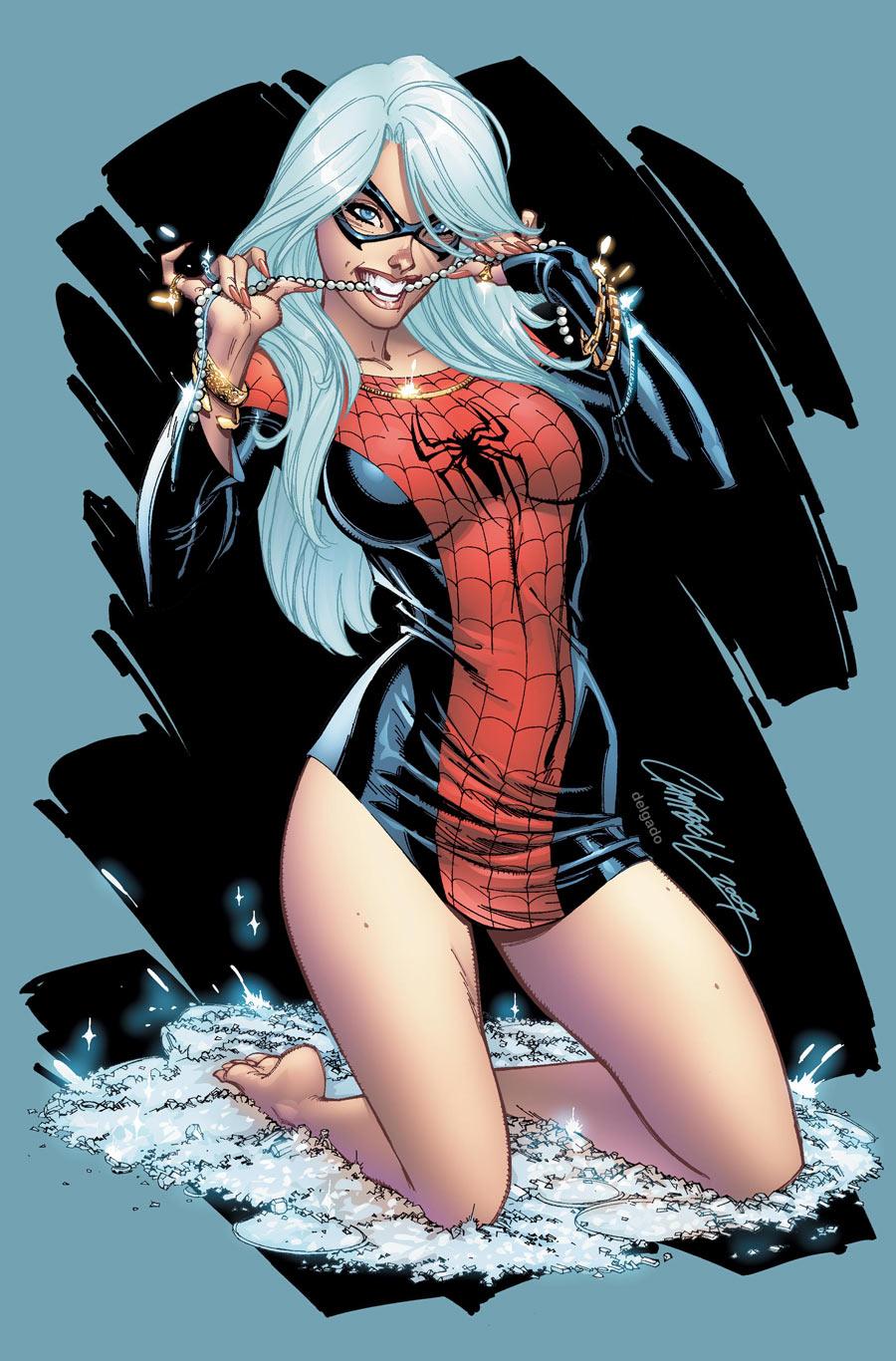 MARY JANE & BLACK ... Mangaverse Spider Man Wallpaper