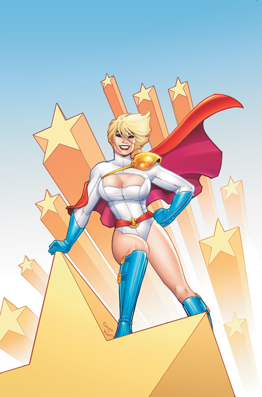 Power_Girl_1_3 Amanda Conner