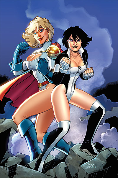 Power_Girl_3 Amanda Conner Terra