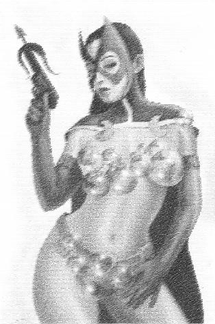 image b4.Cazadora Charles Hall Huntress painted