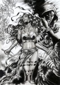 Al Rio Marvel ElektraKnockOut