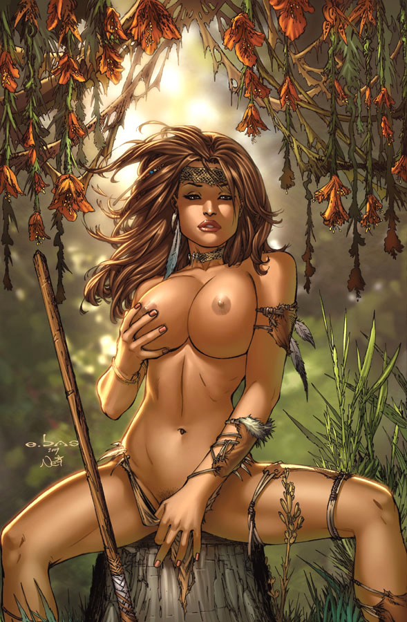Comic nude art — photo 2