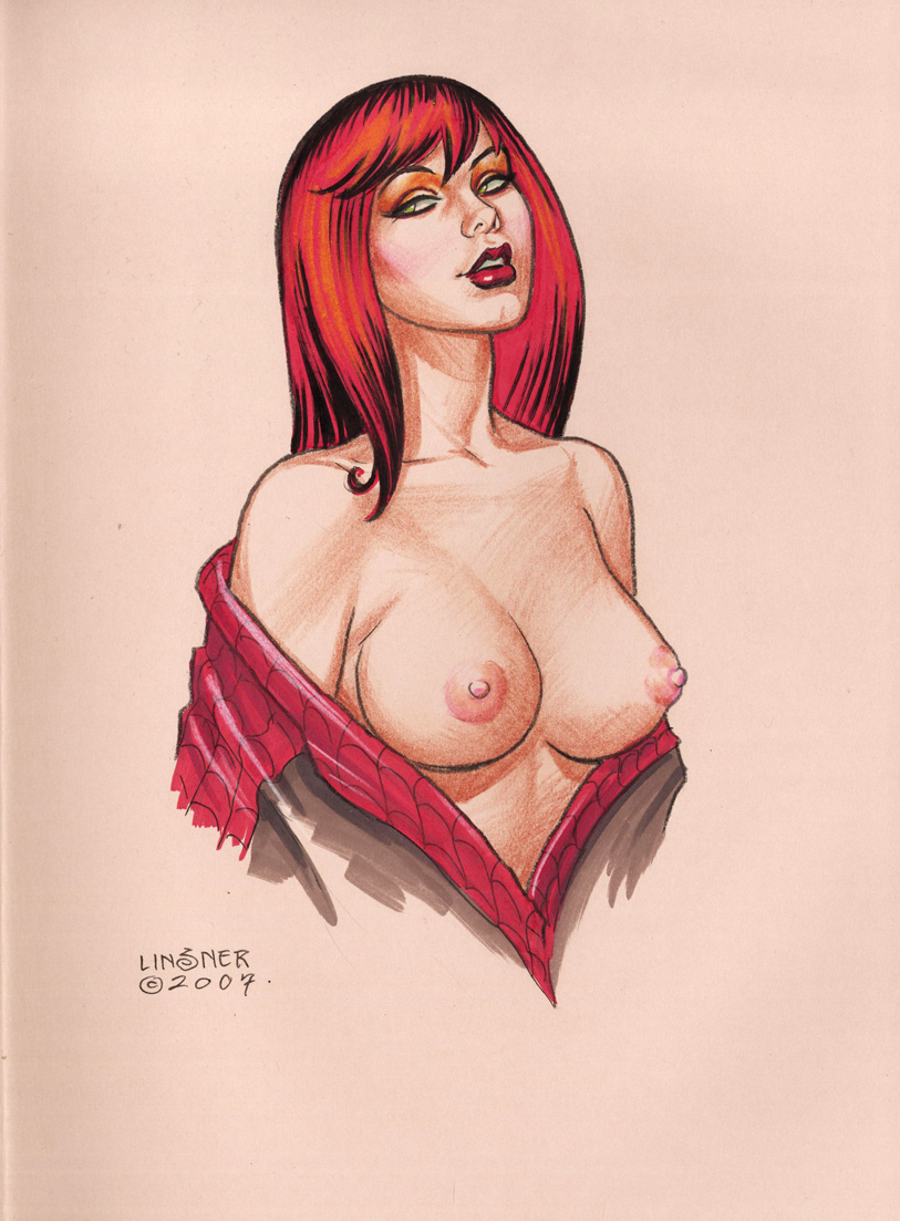 Bbw mary jane watson nude naked and boobs
