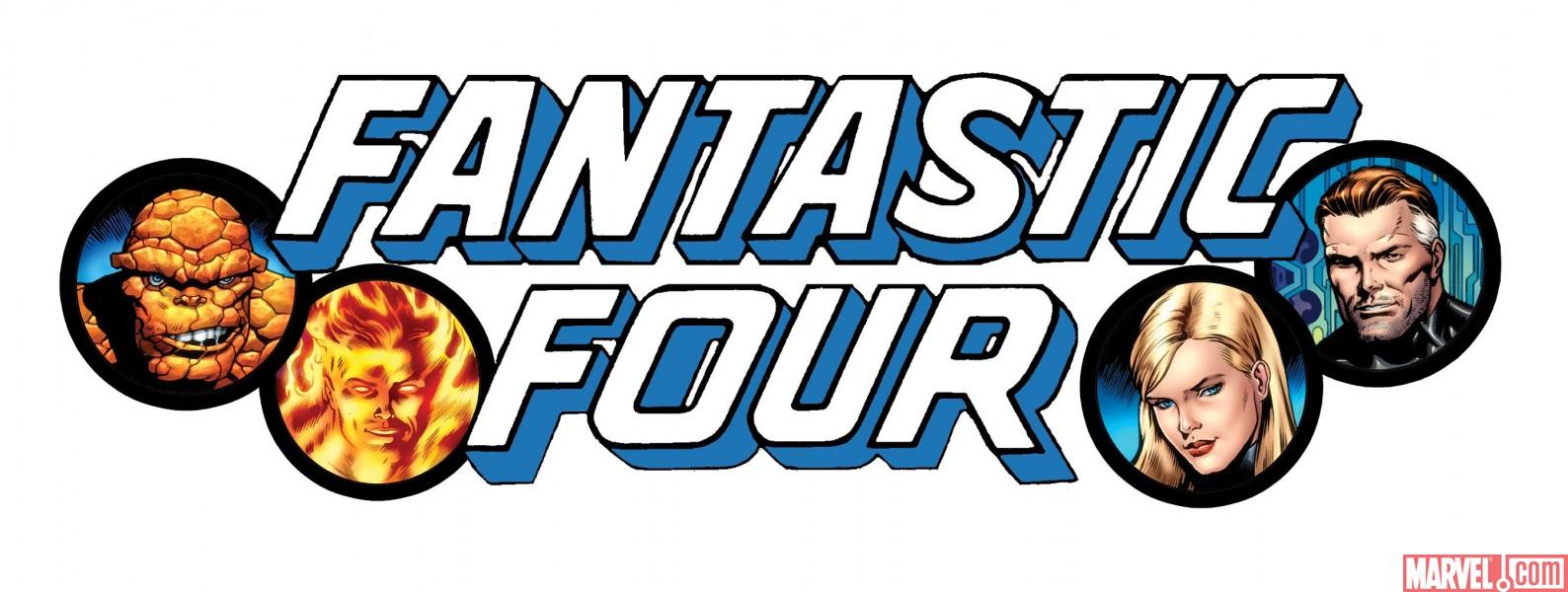 """Los Cuatro Fantasticos Logo """"los Cuatro Fantásticos"""""""
